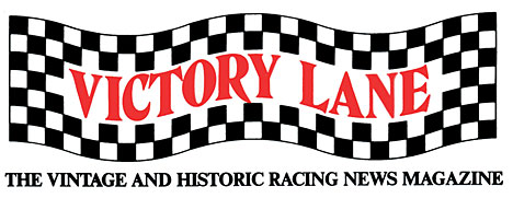 Victory Lane - vintage and historic facing news magazine