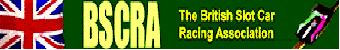 BSCRA - The British Slot Car Racing Association